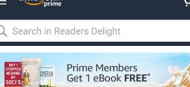One Free Ebook Every Month For Amazon India Prime Members | November 2019 Catalog