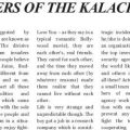 "Published in ""Pune Trends"", Review article for - Keepers Of Kalachakra, a book by Author Ashwin Sanghi, by our senior editor - Jiten Upadhyay."