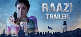 Raazi | A Bollywood Fiction Worth Watching | Movie Reviews
