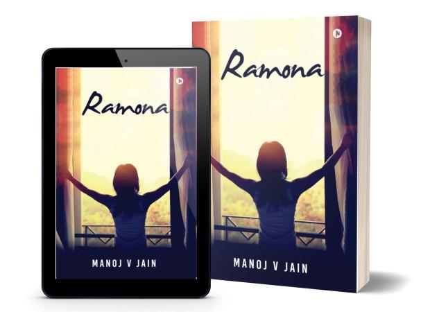Ramona | A Book By Manoj V Jain | Cover Page