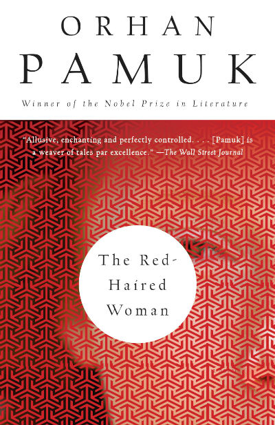 Red Haired Woman by Orhan Pamuk | Book Cover