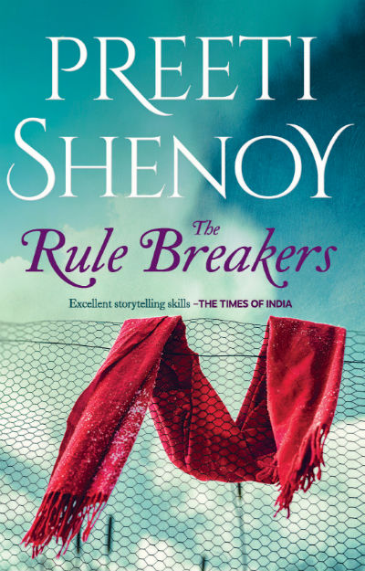 The Rule Breakers by Preeti Shenoy | Book Cover