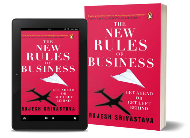 The New Rules of Business: Get Ahead or Get Left Behind:  By Rajesh Srivastava | Book Cover