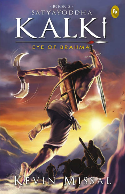 Satyayoddha Kalki - Eye of Brahma By Kevin Missal | Book Cover