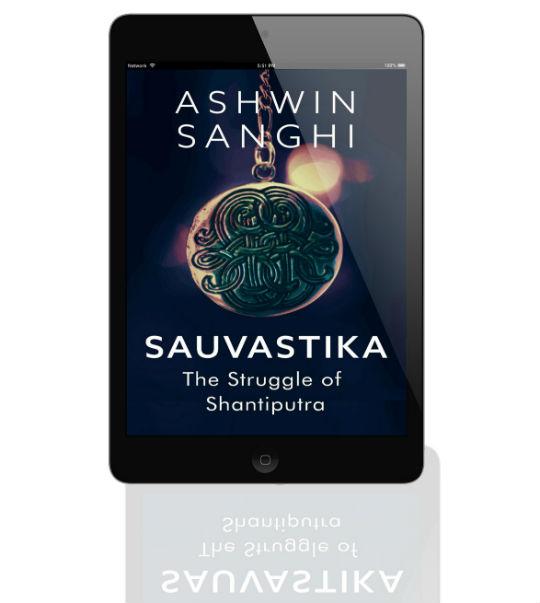 Sauvastika: The Struggle of Shantiputra | A Short EBook By Ashwin Sanghi | Book Cover