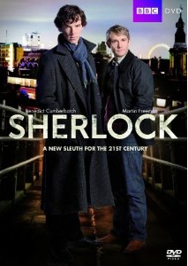 Sherlock - British TV Serial - Season 1 - DVD Cover