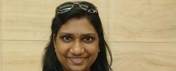 An Interview with Shobana Mahadevan   Author of 40 Feet Off The Ground