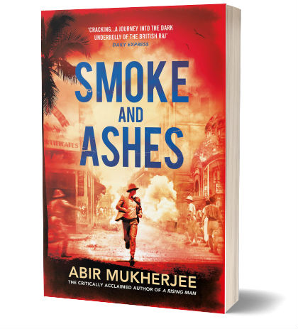 Smoke and Ashes by Abir Mukherjee | Book Cover