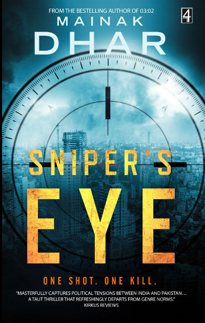 Sniper's Eye by Mainak Dhar | Book Cover