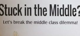 Stuck in the Middle?: Let's break the middle class dilemma! by Praveen Tiwari | Book Reviews