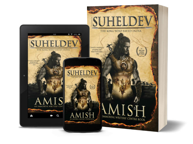 Legend of Suheldev - The King who saved India by Amish | Book Cover