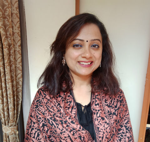 Sumana D. Chowdhury : The Author Of - The Third Eye And Other Tales - In A Candid Mood