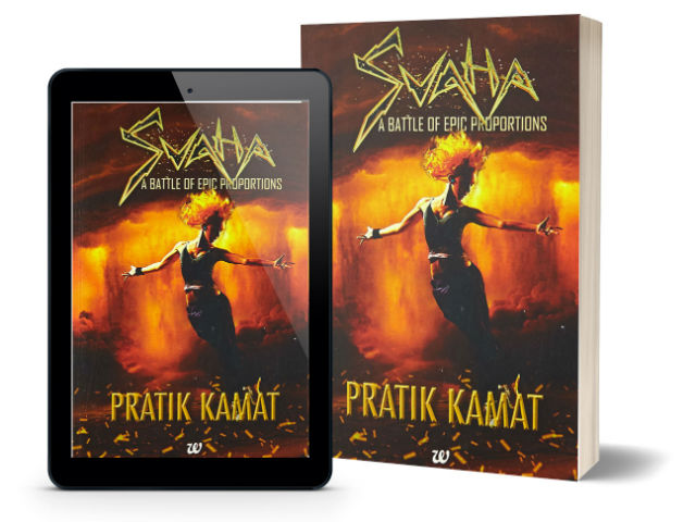 Svaha - A Battle of Epic Proportions by Pratik Kamat | Book Cover