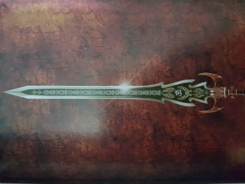 Sword of Shiva - As Depicted In The Book