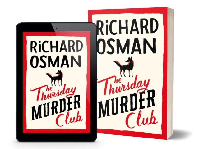 The Thursday Murder Club by Richard Osman   Book Cover