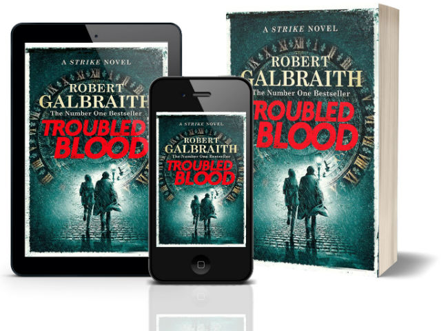 Troubled Blood: A Cormoran Strike Novel by Robert Galbraith | Book Cover