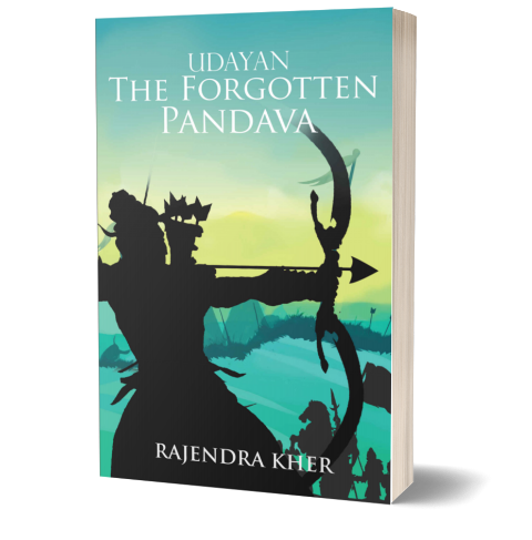 Udayan: The forgotten Pandava by Rajendra Kher | Book Cover