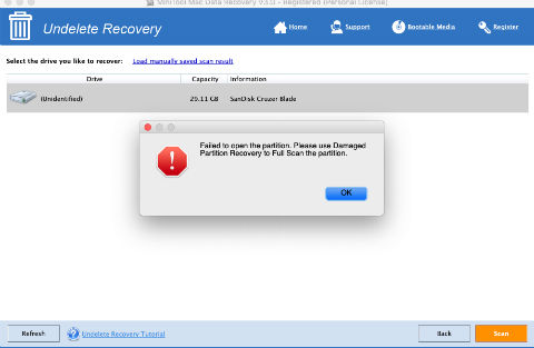 Undeleted Recovery - What It Says?