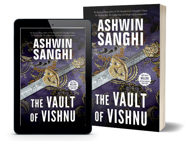 The Vault of Vishnu By Ashwin Sanghi | Book Cover