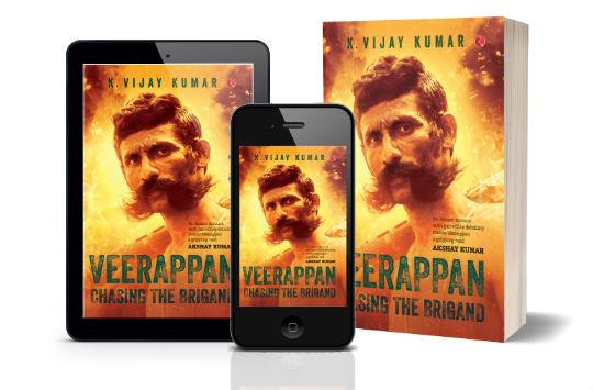 Veerappan Chasing The Brigand by K Vijay Kumar | Book Cover