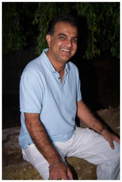 Author Vish Dhamija