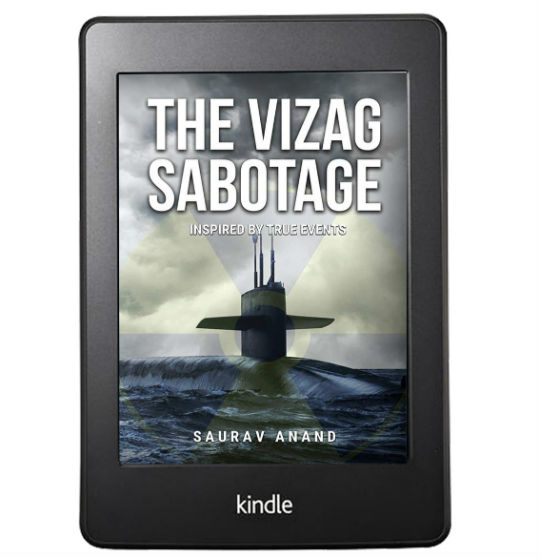 The Vizag Sabotage by Saurav Anand | Book Cover