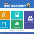 Power Data Recovery - Welcome Screen