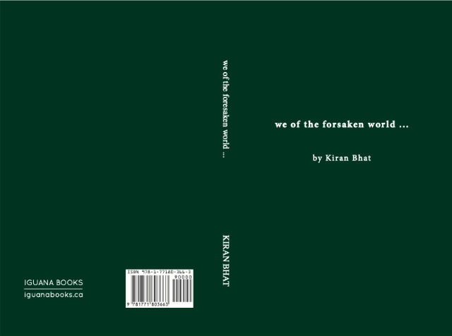 We of the Forsaken World by Kiran Bhat | Book Cover